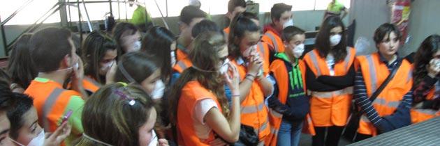 Visita a la Planta de Reciclaje en Murcia