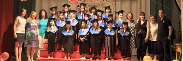 Fiesta de graduación Infantil y Primaria 2014