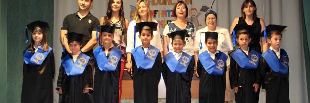 Graduación Infantil, curso 2014/15