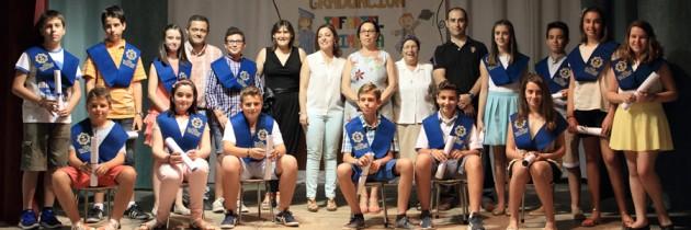 Graduación 6º Primaria, curso 2014/15